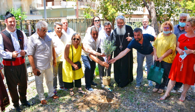 Θεμελιώθηκε Μνημείο Θρακικού Ελληνισμού στην Αλεξανδρούπολη