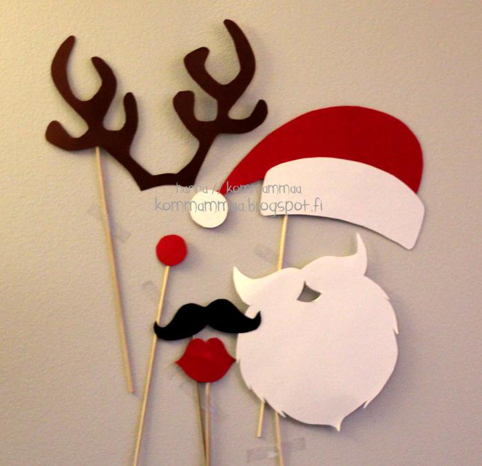 joulu photobooth joulukortti