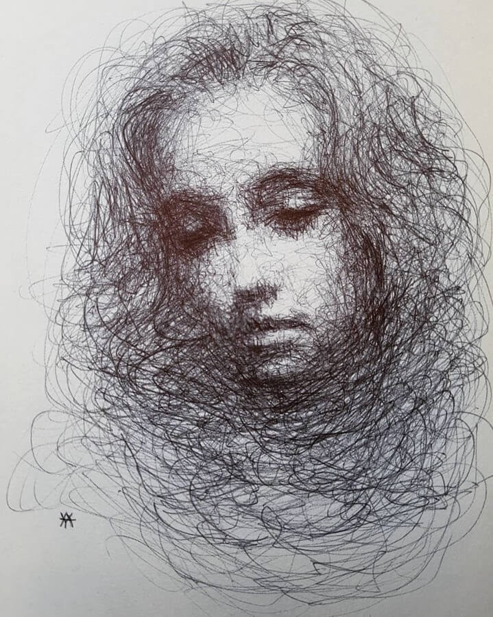 06-LY-Ahmet-Scribble-Portraits-www-designstack-co