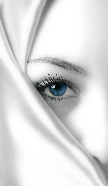 blue eye white face wallpaper girl photo