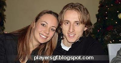 Luka Modrić and his hot girlfriend