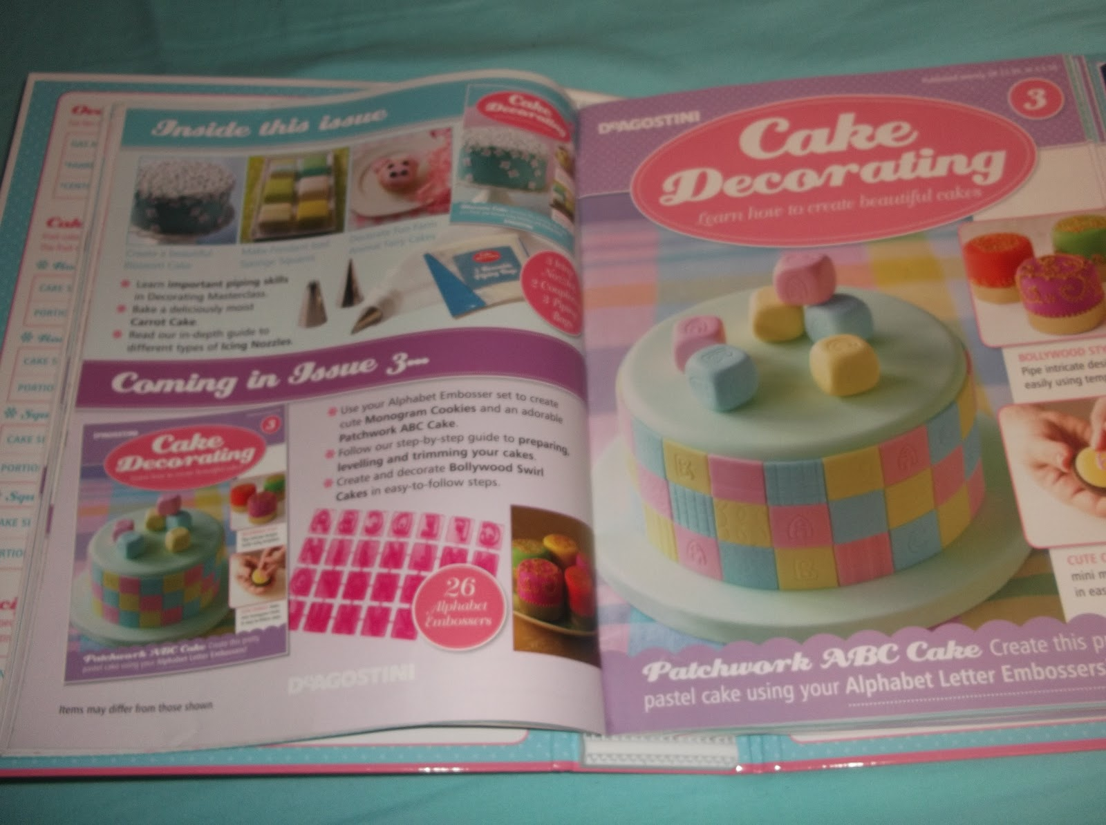 Baking and Cupcakes  Review  Cake Decorating Magazine All my magazines are in a binder which they provide in one of the issues