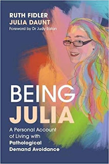 Front cover of Being Julia book