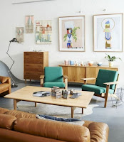 Mid-century furniture examples