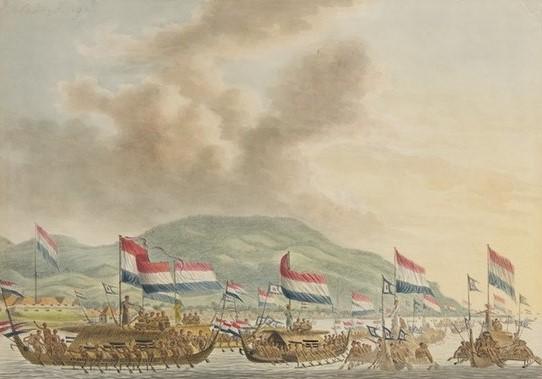 Kapal Kora-kora yang digunakan dalam Perang Ambon