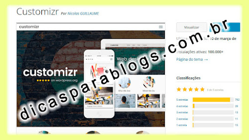 template Customizr wordpress