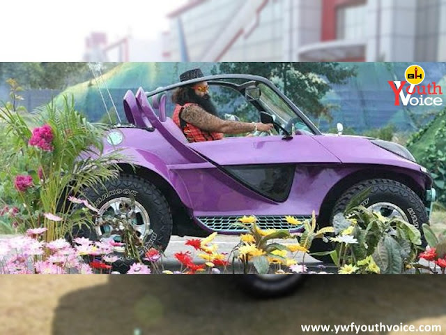 Gurmeet Ram Rahim in Self Modified Car, tree plantation dera sacha sauda, saint ram rahim birthday wallpaper, lionheart msg warrior song poster, msg online gurukul poster songs, ijjat ka rakhwala song mp3 download, saint ram rahim birthday greeting, green s welfare force tree plantation
