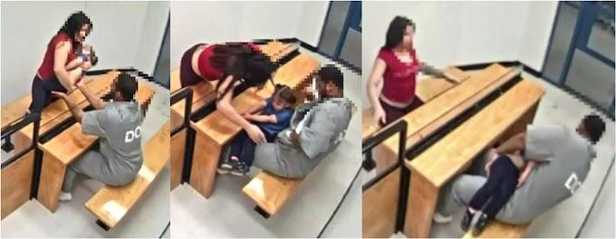 Una mujer usó bebé para llevarle drogas al marido preso en la cárcel de Rikers Island en Queens