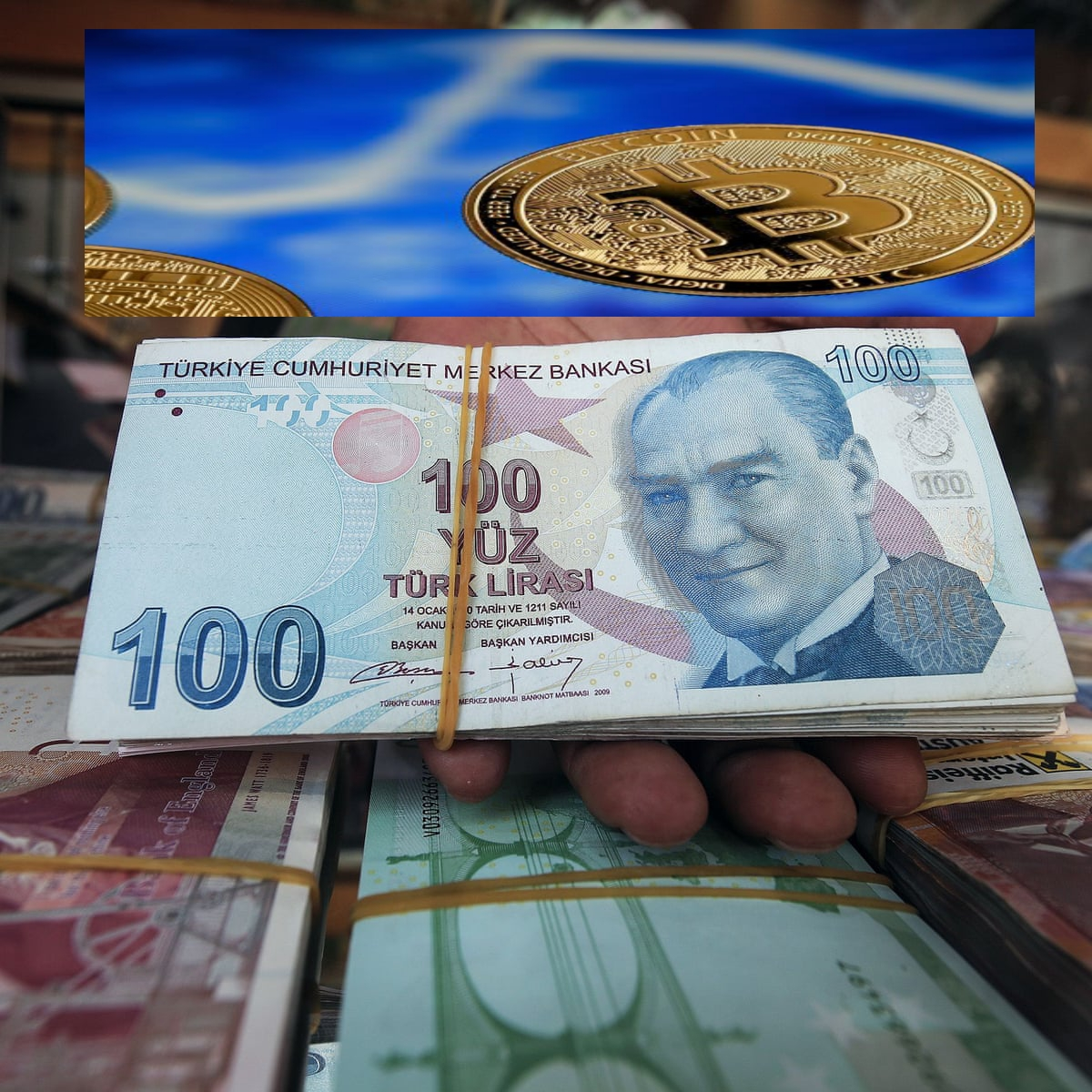 Turkey bans the use of Cryptocurrencies for means of payments, effective April 30