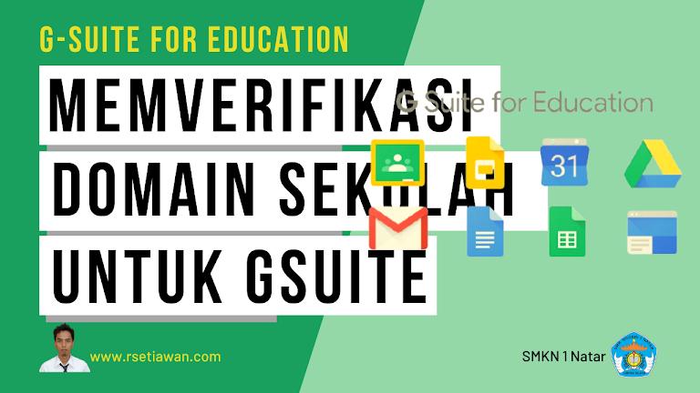 6 langkah aktivasi G Suite dan Gmail untuk sekolah
