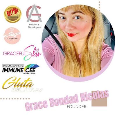 AAA Cosmetics, Grace Bondad Nicolas