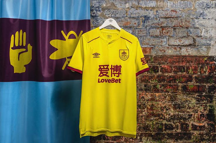 Burnley 20-21 Third Kit Released - Premier League Launches ...
