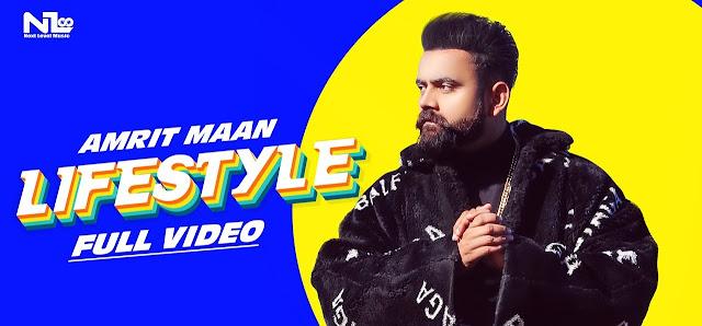 LifeStyle Lyrics - Amrit Maan Ft Gurlej Akhtar