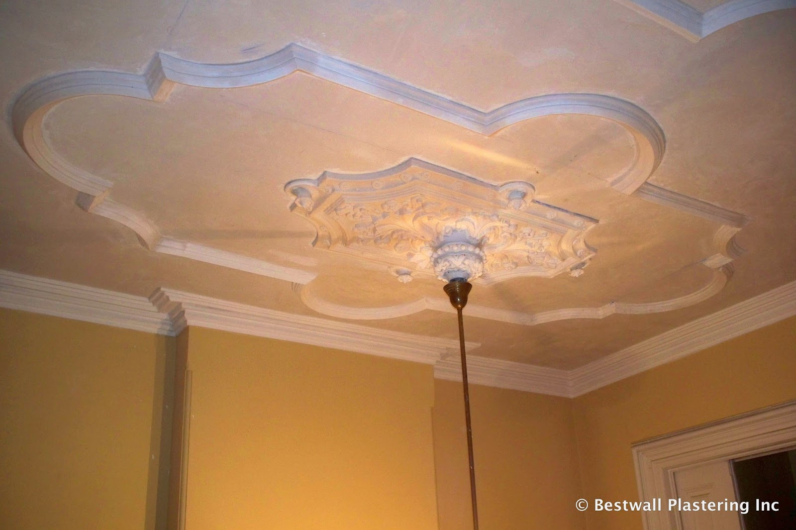 What you need to know about plastering Ornate Plaster Ceiling