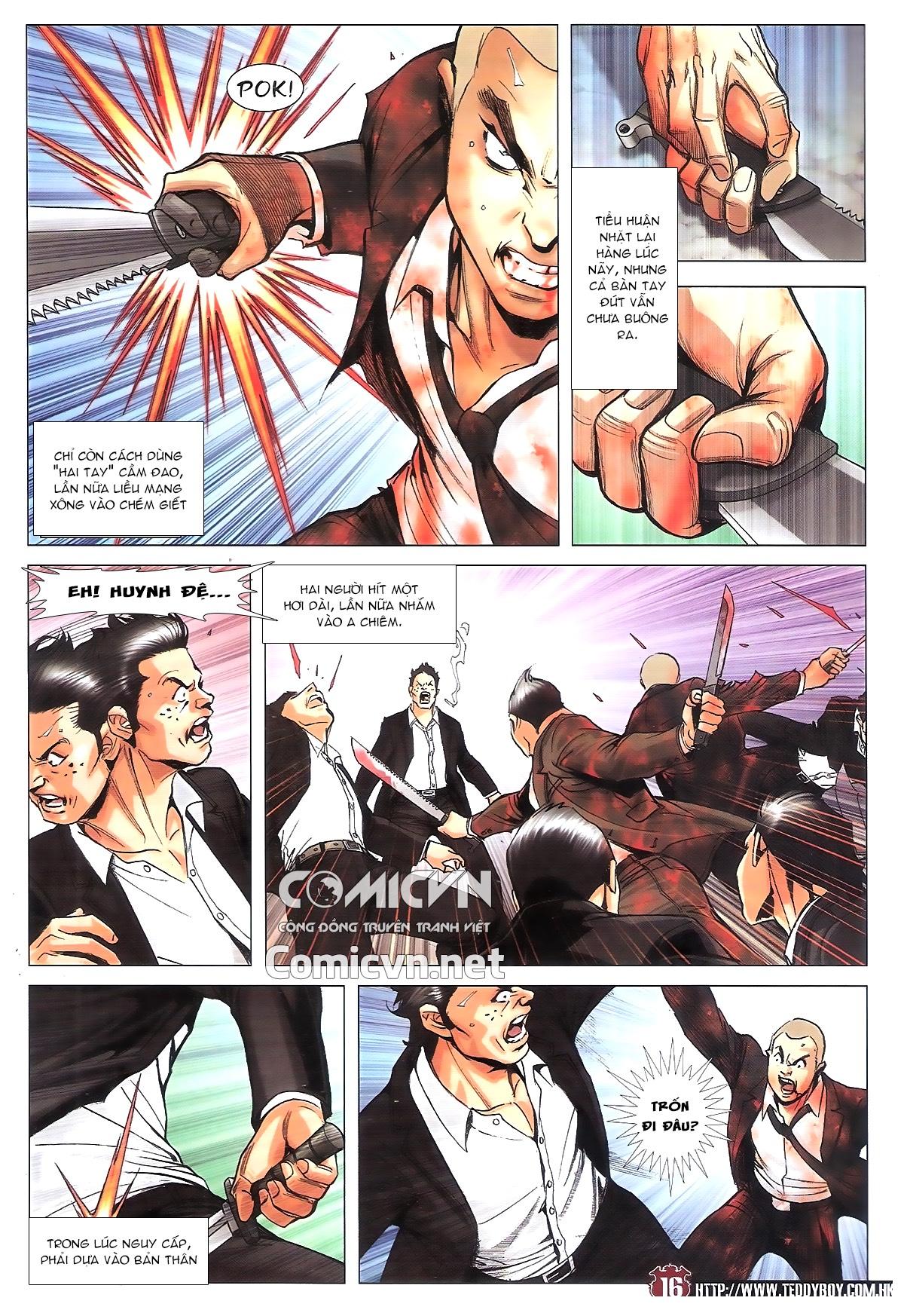 Người Trong Giang Hồ chapter 1805: thiên đao vạn trảm trang 15