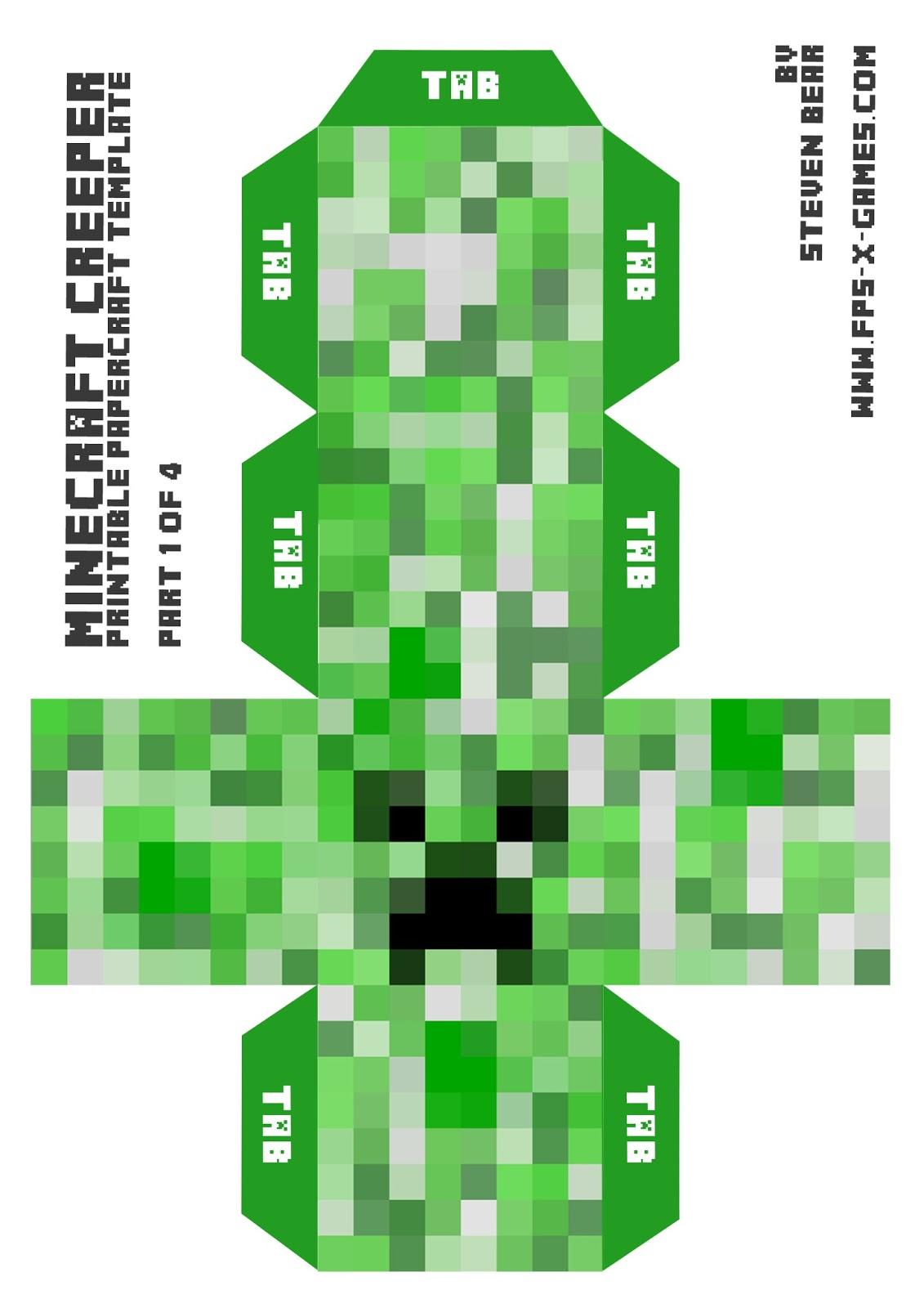 minecraft printable pictures # 59