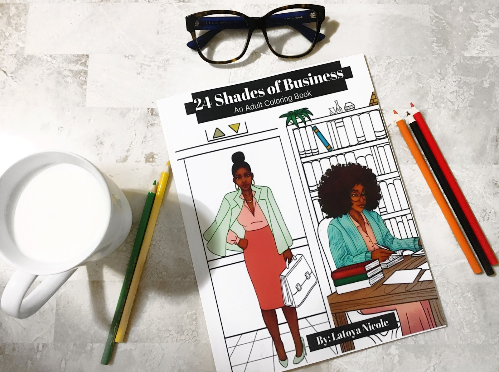 24 shades of business a coloring book for the black entrepreneurs soul