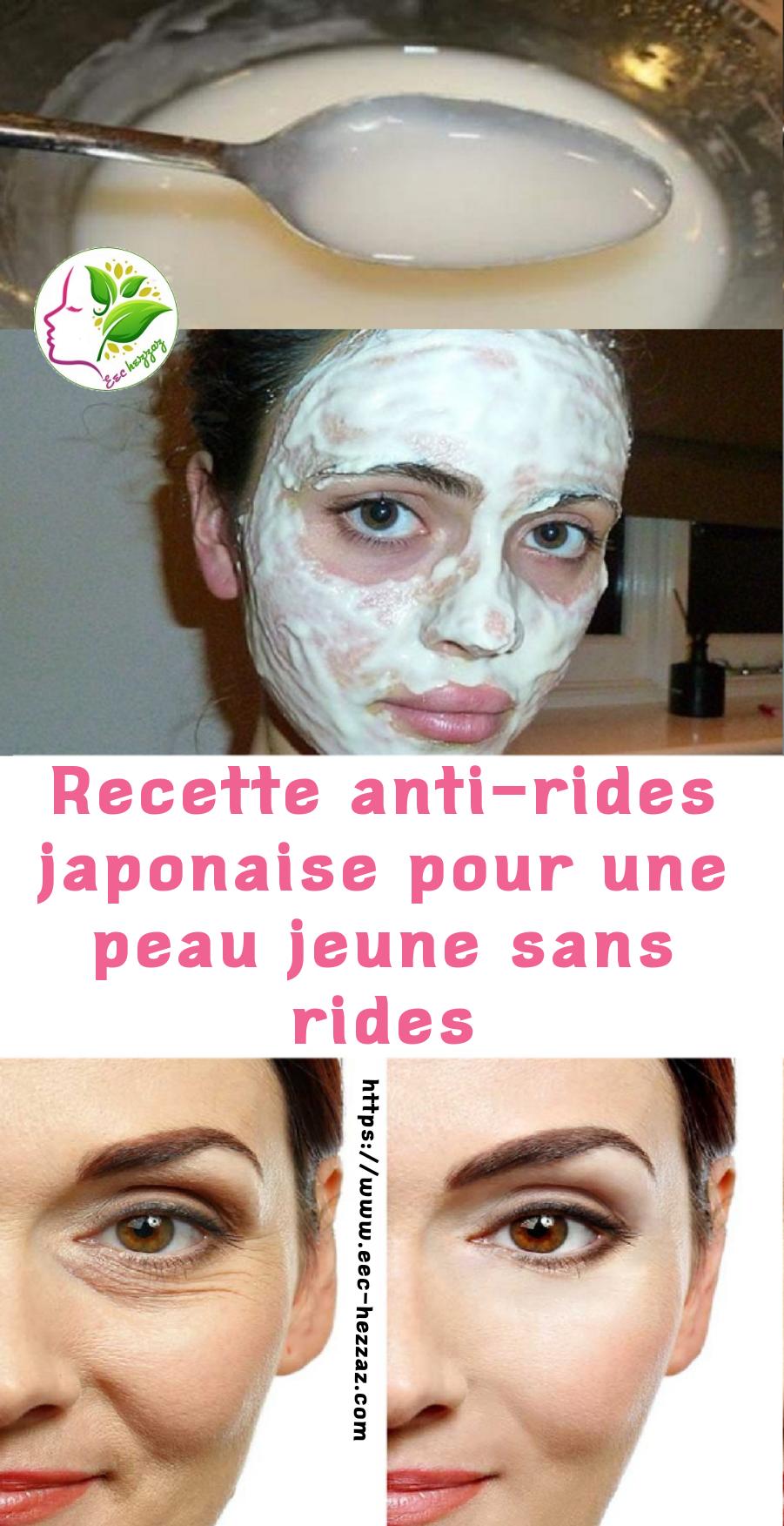 Recette anti-rides japonaise pour une peau jeune sans rides