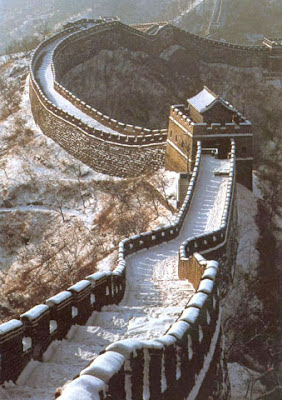Great wall of china snow pictures
