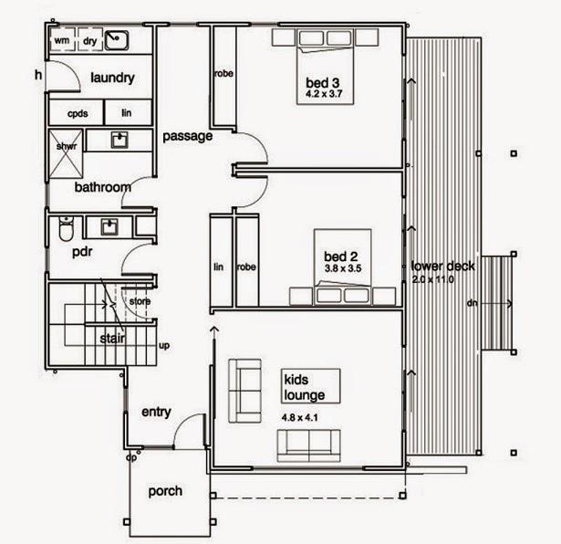 Planos De Casas Gratis Planos Casas Modernas 210 M2 - Plano-casas-modernas