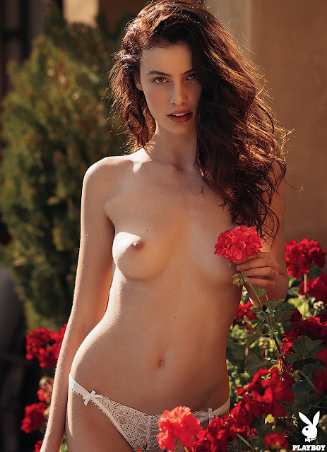 Hot Model Sera Mann Sexy Pose From Special Playboy Girls