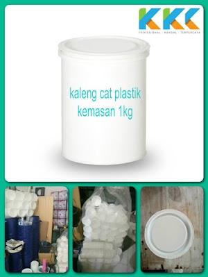 Jual Kaleng Ember Cat Plastik Kemasan 1Kg