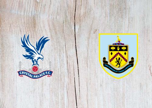 Crystal Palace vs Burnley -Highlights 13 February 2021