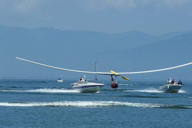 Japan International BIRDMAN RALLY at Lake Biwa, Hikone, Shiga