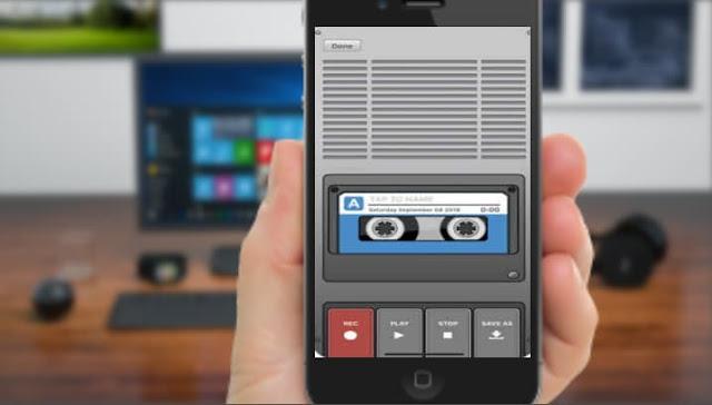 كيفية تسجيل الصوت في الايفون