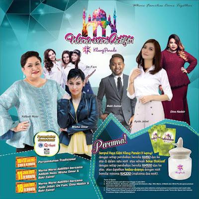 Warna-warni Aidilfitri Klang Parade