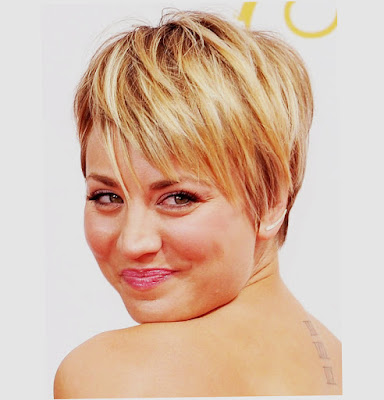 Latest Hairstyles For Round Faces Blonde Latest Photo