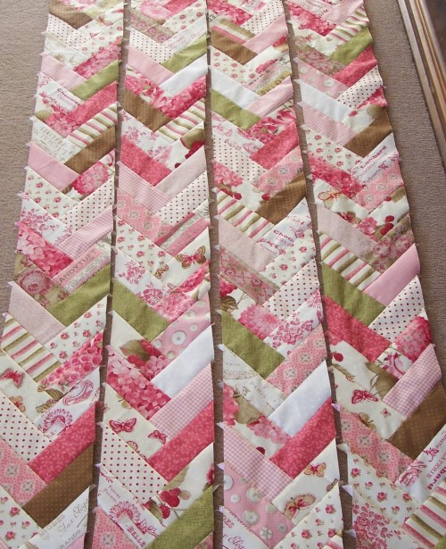 French Braid Quilt - Tutorial