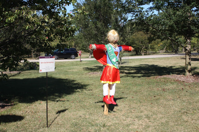 Super Girl Scarecrow