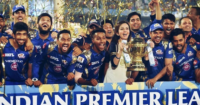 Mumbai indians IPL champions