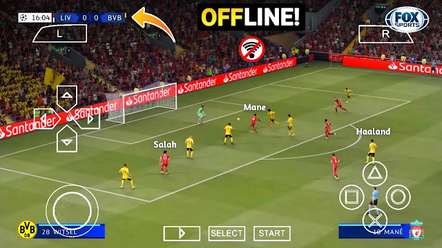PES 2021 PPSSPP Android Offline 600MB Best Graphics Fixed UCL New Menu Faces Kits & Full Transfers