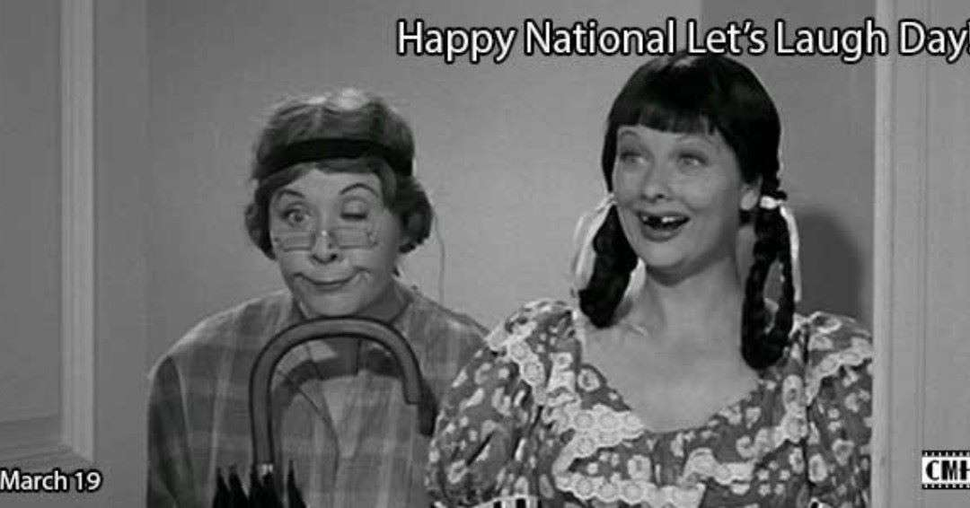 National Let's Laugh Day Wishes Awesome Picture