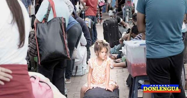 Niño refugiado venezolano se desmayó durante su caminata hacia Chile huyendo del Régimen