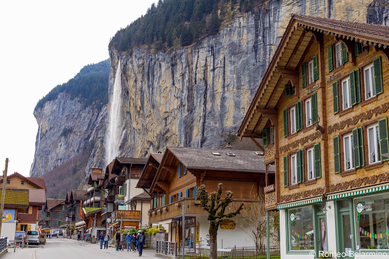 Lauterbrunnen Town Four Days in Interlaken and the Swiss Alps