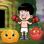 Games4King Boxing Boy Esc…