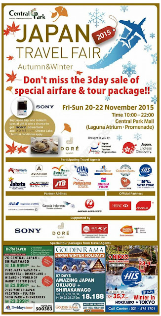 Jadwal Japan Travel Fair 2015