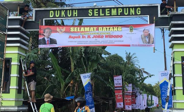 Selamat Datang Presiden RI Joko Widodo di Kabupaten Pati