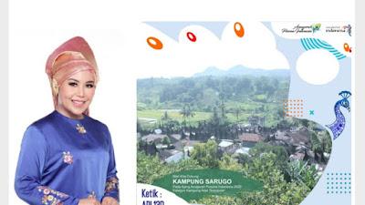 Kegigihan Rezka Oktoberia Populerkan Kampung Sarugo Berbuah Manis di API 2020