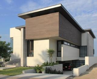 desain rumah sederhana tapi modern 2 lantai