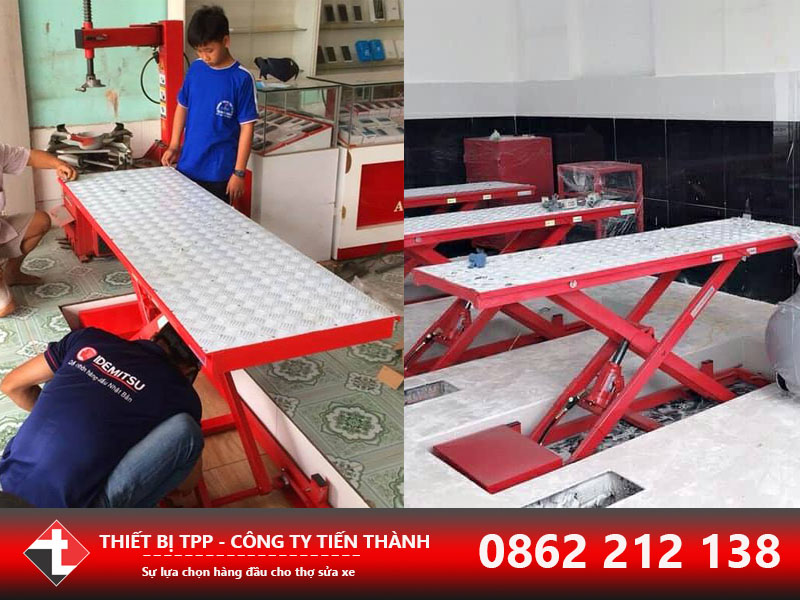 bàn nâng sửa xe, bàn nâng xe máy, bàn nâng sửa chữa xe máy, bàn nâng xe gắn máy