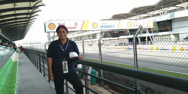 Jalan jalan ke Sirkuit Sepang Malaysia