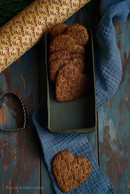 farine de chataigne , cookies , cacao , gâteaux de noel