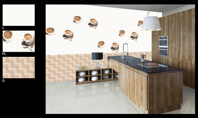 Large Kitchen Tiles