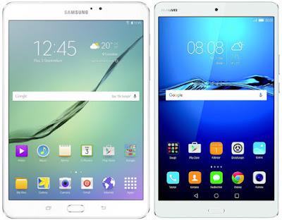Samsung Galaxy Tab S2 8.0 VE vs Huawei MediaPad M3 8.4