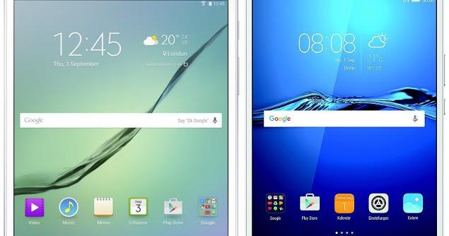 a5392ef26dc78 Samsung Galaxy Tab S2 8.0 VE vs Huawei MediaPad M3 8.4