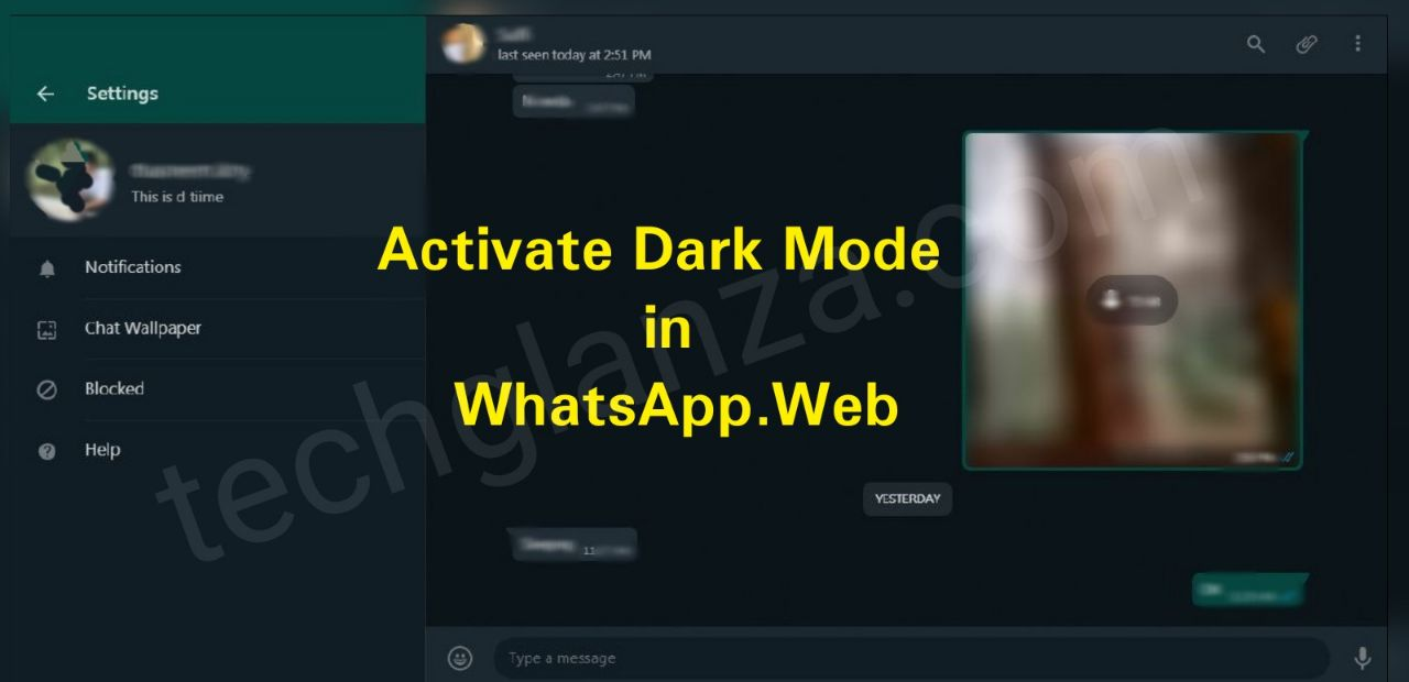 Activate Dark Mode in WhatsApp Web using Inspect Mode